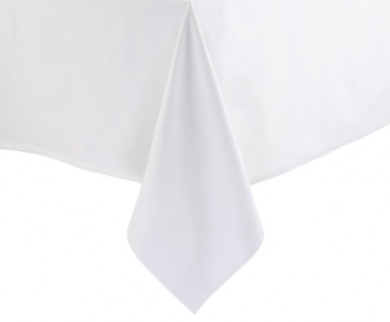 Nappe blanche 140 x 250 100% polyester